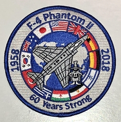 F-4 Phantom II 60th Anniversary Patch