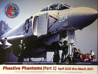 F-4 Society Phestive Phantoms (Part 1) April 2020 - March 2021 Calendar