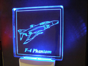 LED Night Lite F-4 USAF