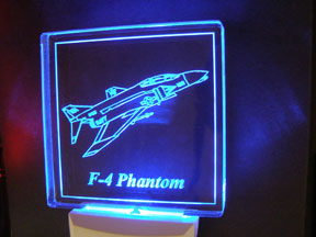 LED Night Lite F-4 USN