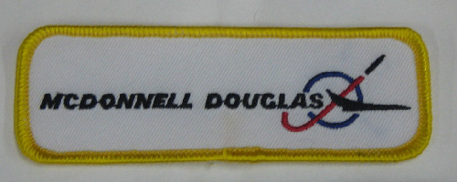 McDonnell Douglas Rectangular Logo Patch