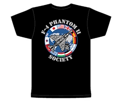 Phantom II Society's Standard Global T-Shirt