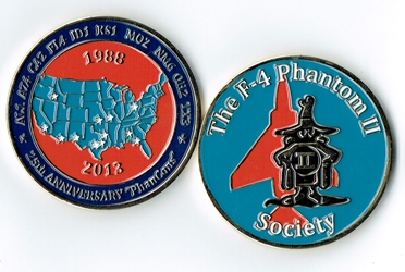 25th Anniversary PhanCon Challenge Coin