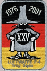 Patch - Spook 25 Years German Air Force Service