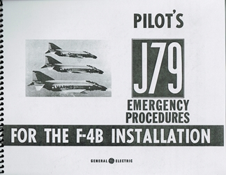 F4B Pilots Emergency Procedures Manual J79 Engine/Instruments
