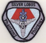 Patch - Silver Lobos Phantoms Phorever